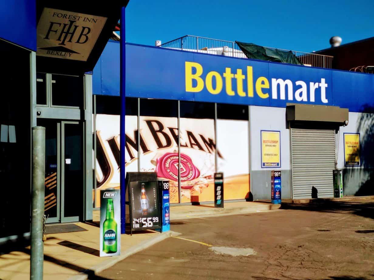 Bexley Bottlemart bottle shop
